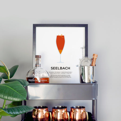 Seelbach cocktail print