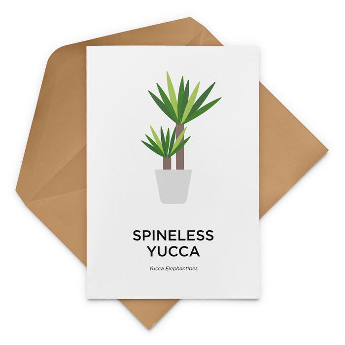 Spineless Yucca Greeting Card