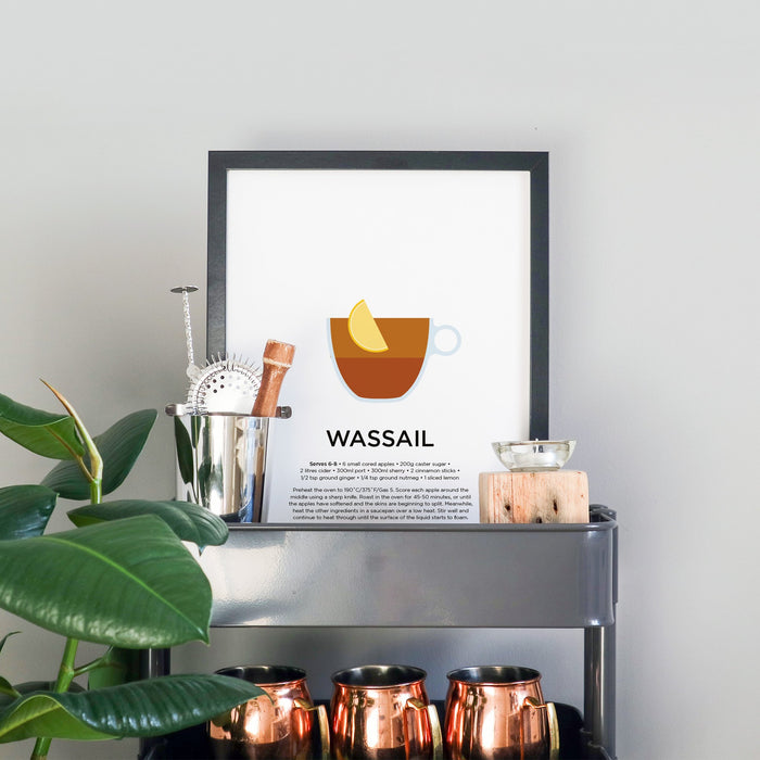Wassail cocktail print