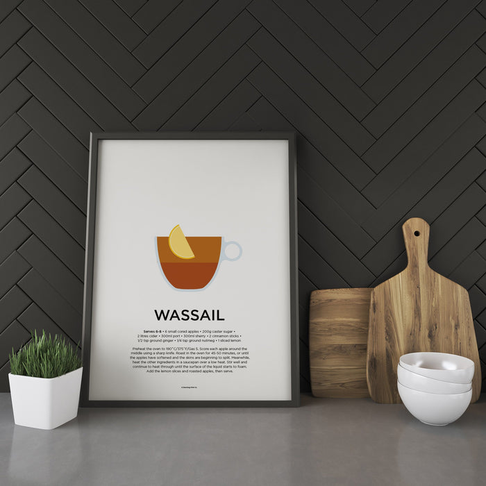 Wassail cocktail recipe print