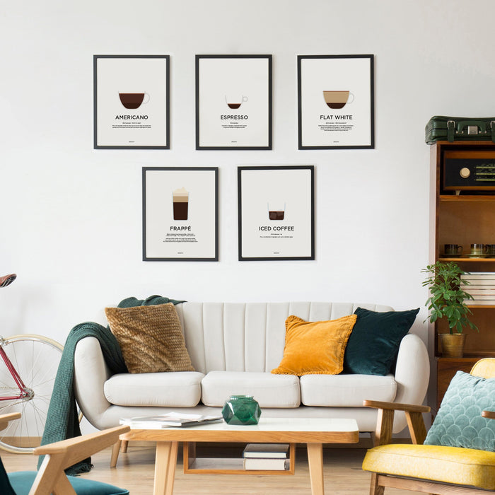 World coffee recipe prints