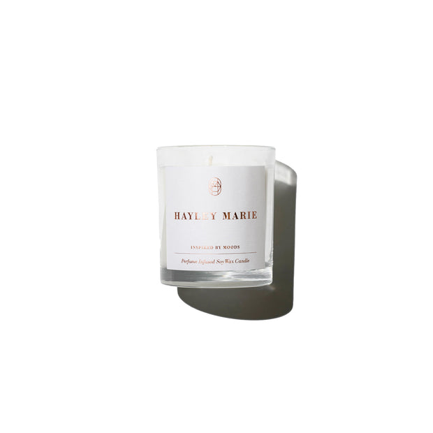 Pivoine Scarf Candle