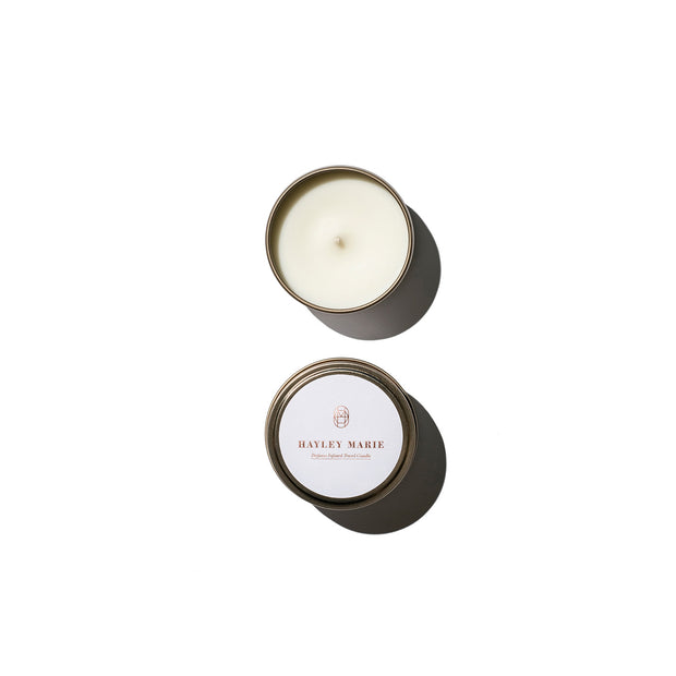 Pivoine Scarf Travel Candle