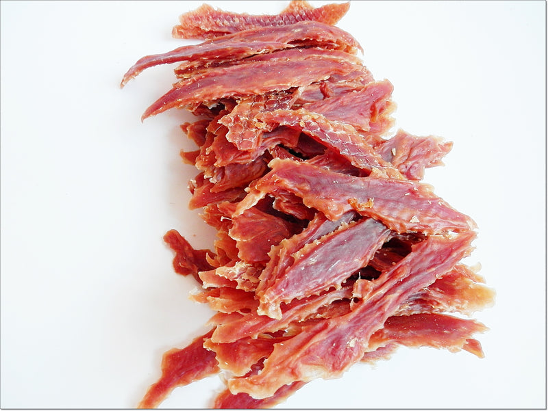 G139 Dried Hard Duck Chewable Breast Strips