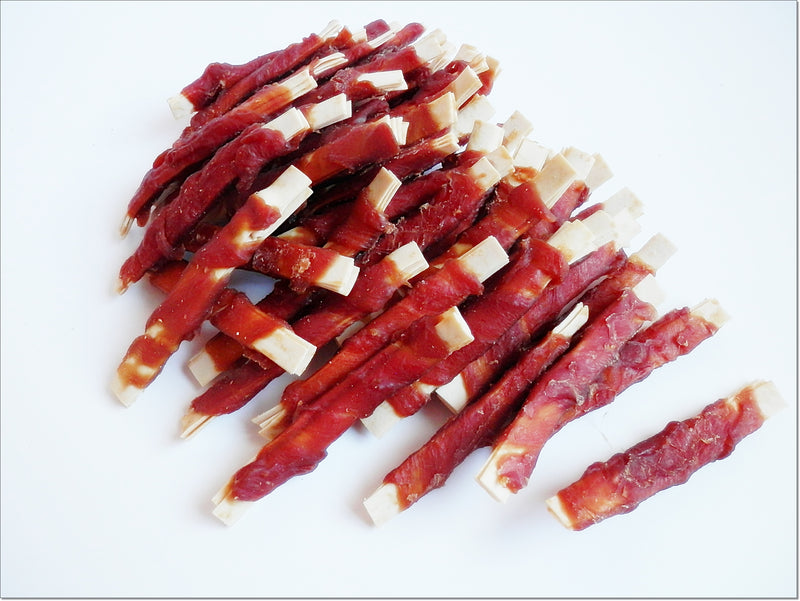 G195 Soft Fish Sticks Wrapped in Dried Duck Breast