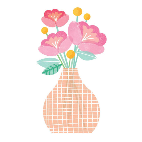 Vase of Flowers - Paper Bits and Bobs - Mandi at Home