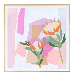 Summer Proteas - Print - Mandi at Home