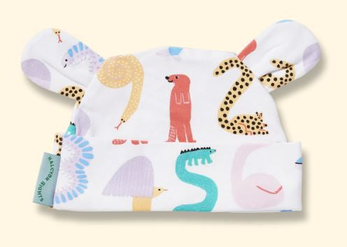 Animals Counting - Lunar Baby Hat - Mandi at Home