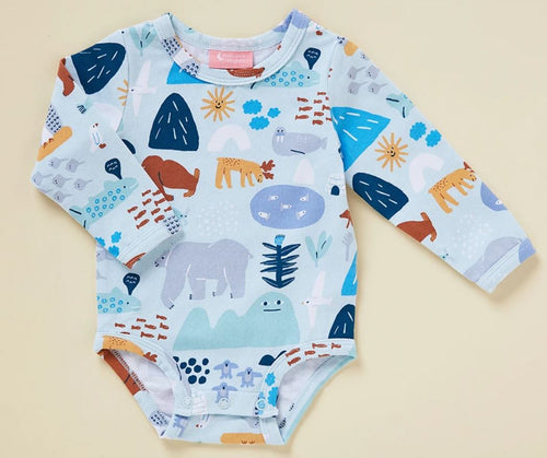 Arctic Park - Long Sleeve Body Suit - Mandi at Home
