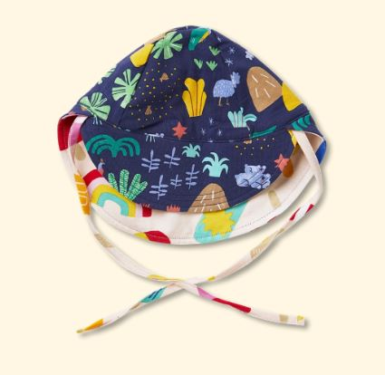 Beach Forest - Reversible Sun Hat - Mandi at Home