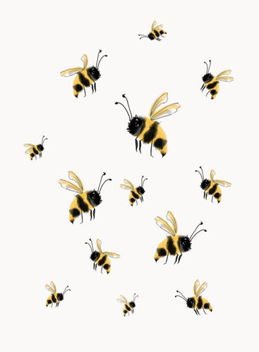 Wall Print - Bees - Mandi at Home