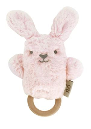 Betsy Bunny Wooden Teether - O.B. Design - Mandi at Home