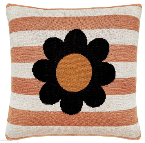 Bloom Stripe Knit Cushion - Mandi at Home