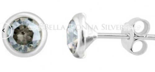 Clear Crystal Swarovski Studs - Mandi at Home