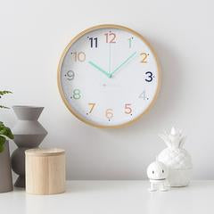 Rainbow Clock - Mandi at Home