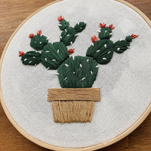 Load image into Gallery viewer, Cacti Embroidery Kit - Mandi at Home