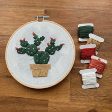 Load image into Gallery viewer, Cacti Embroidery Kit - Poppyseed Creative - Mandi at Home
