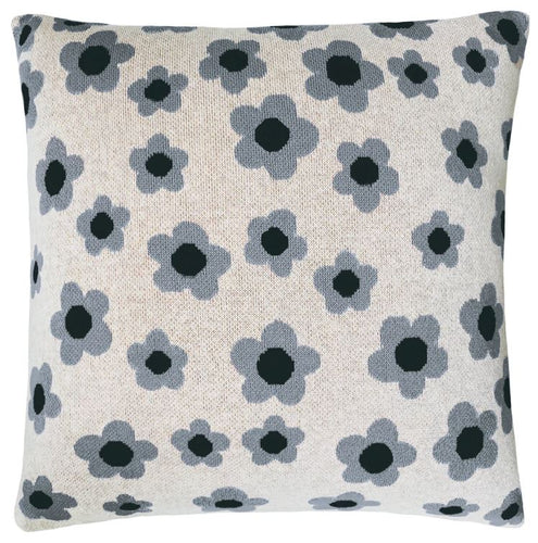 Daisy Chain Knit Cushion - Double Sided