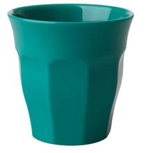Load image into Gallery viewer, RICE - Medium Melamine Cup in Dark Green. - Mandi at Home