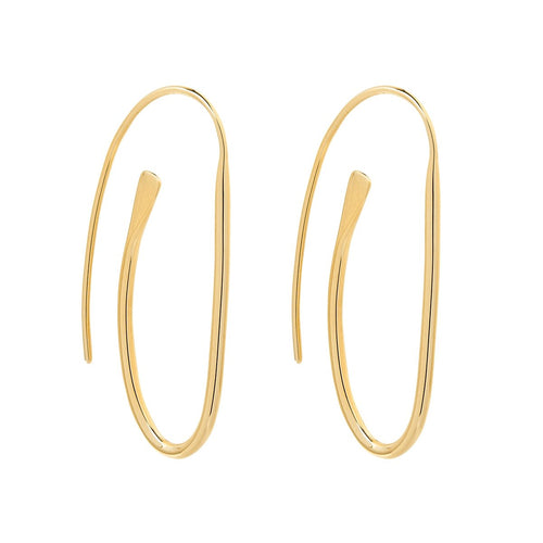 NAJO - Paperclip Earring - Gold - Mandi at Home
