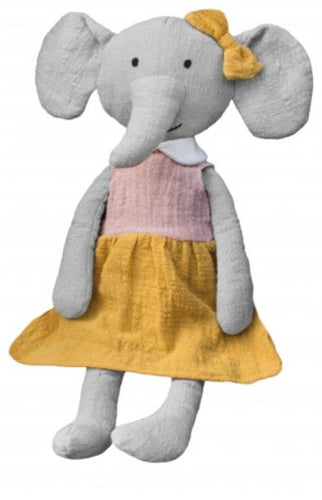 Effie the Elephant Toy - Mandi at Home