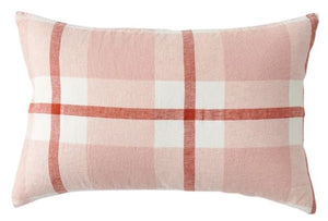 Society of Wanderers - Floss Check Standard Pillowcase Set - Mandi at Home