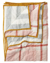 Load image into Gallery viewer, Society of Wanderers- Floss/Fog Double Sided Quilt - King - Mandi at Home