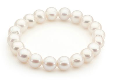 Freshwater Pearl Stretch Fit Bracelet - Mandi at Home
