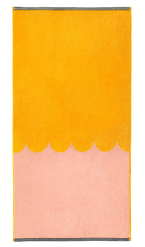 Peach Bath Towel - Castle and Things - Mandi at Home