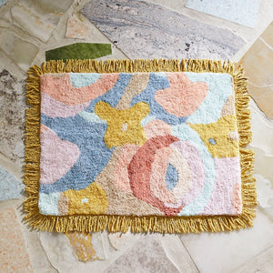 Fleur Tufted Bath Mat - Mandi at Home