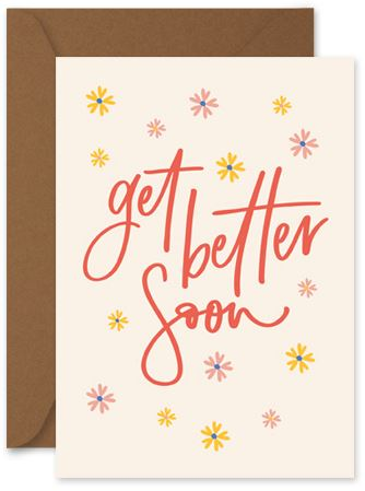 Get Better Soon - Little Hoothoot Card - Mandi at Home