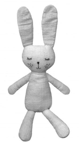 Grey the Bunny Toy - Mandi at Home