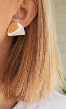 Load image into Gallery viewer, Hazel Studs - Peach Terrazzo - Mandi at Home