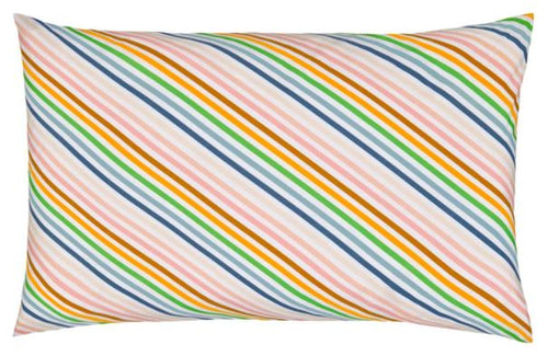 Ice Cream Stripe Pillowcase - Castle & Things - Mandi at Home