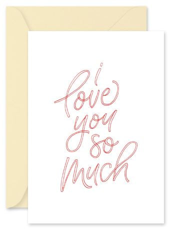 I love You So Much - Little Hoothoot Card - Mandi at Home