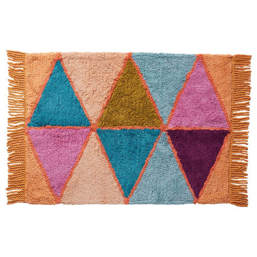 Issy Harlequin Bath Mat - Mandi at Home