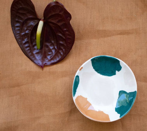 Jewellery Dish - Teal Terrazzo - Mandi at Home