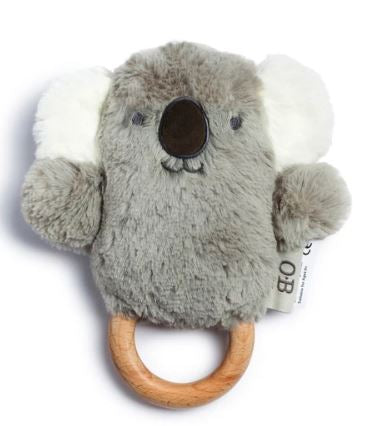 Kelly Koala Wooden Teether - O.B. Designs - Mandi at Home