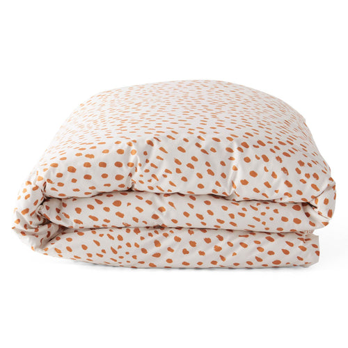 Speckle Caramel Cotton Quilt Cover - Mandi at Home