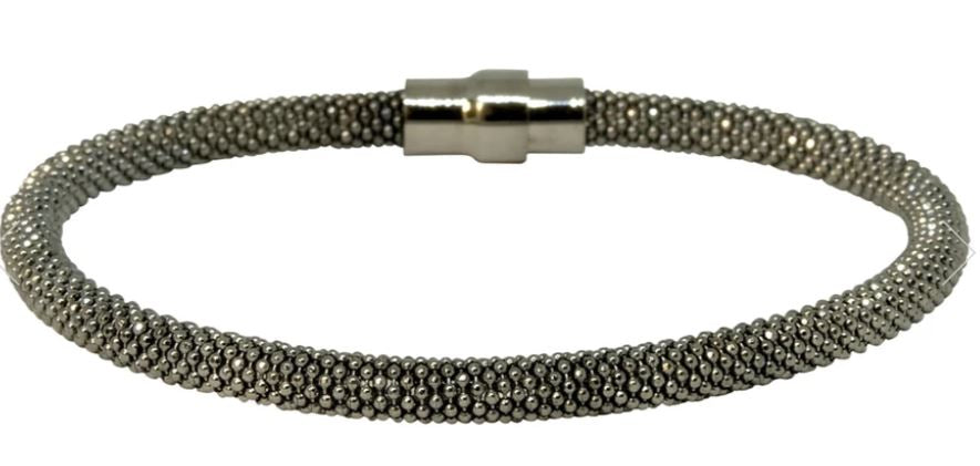 Torini Black Laser Snake Bracelet - Mandi at Home