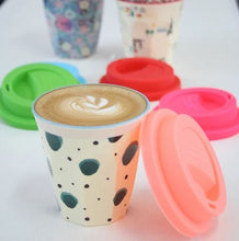 Load image into Gallery viewer, RICE - Medium Melamine Cup in Box of 6 Assorted LBC Colours - Mandi at Home