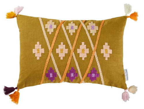 Magalie Embroidered Cushion - Sage and Clare - Due late January - Mandi at Home