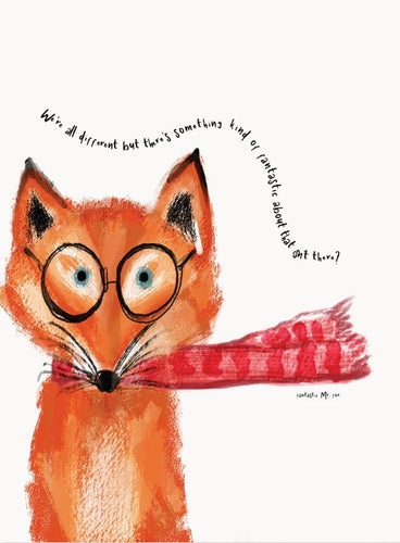 Art Print - Mr Fox Wall Print - Mandi at Home