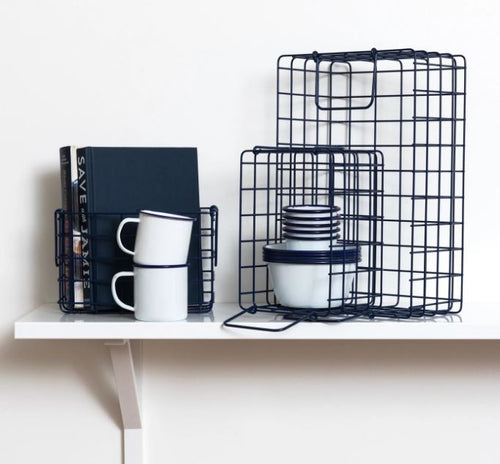 The Baskets - Navy - Mandi at Home