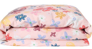 Pansy Cotton Quilt Cover - Single - Mandi at Home