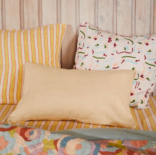 Linen Standard Pillowcase Set - Parfait - Mandi at Home