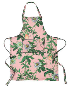 Passion Pink Linen Apron - Mandi at Home