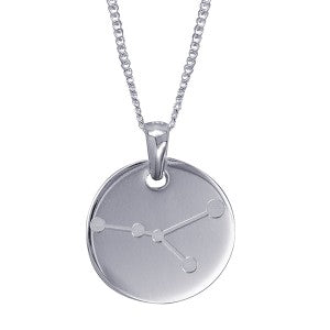 Cancer Constellation Pendant - Sterling Silver - Mandi & Co