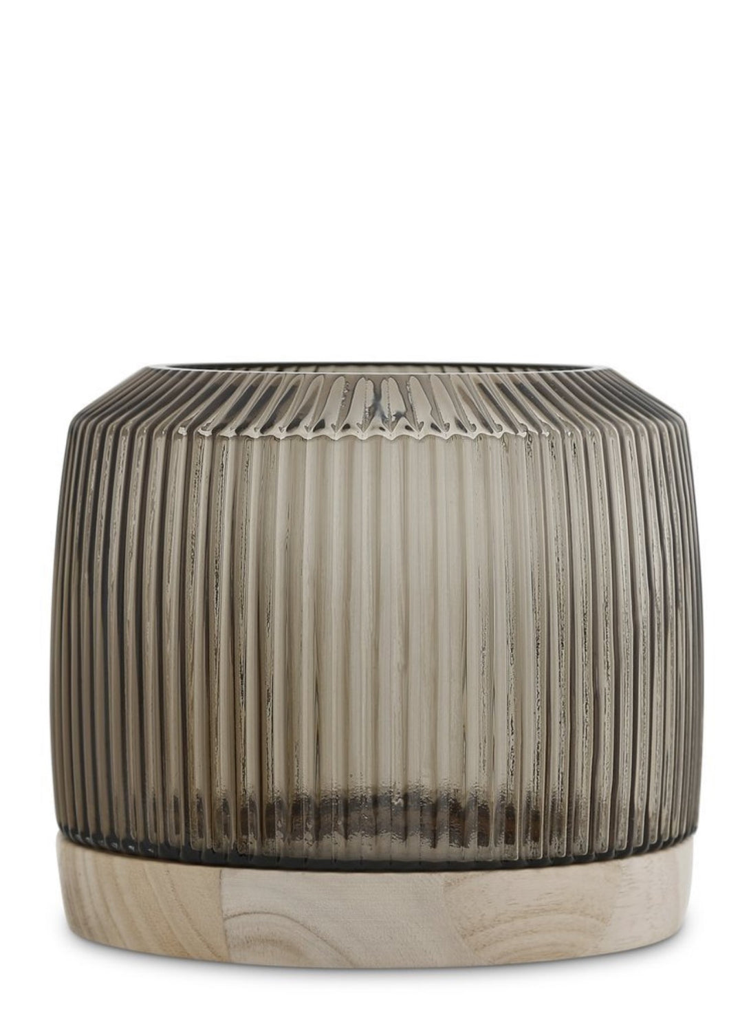 Pleat Vase Smoke (XL) - Mandi at Home
