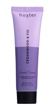 Huxter Hand Cream Duo 35ml - Cedarwood and Fig - Mandi at Home
